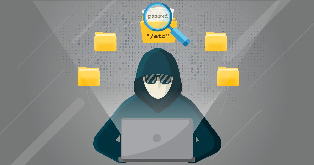 Directory traversal attack (path traversal)