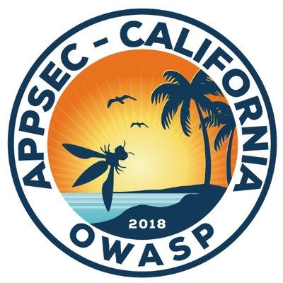 OWASP AppSec California 2018 Logo