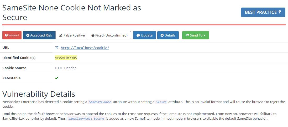 SameSite Cookies Security Check