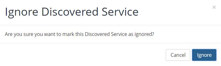 Ignore Service