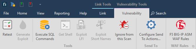 Vulnerability tab Image