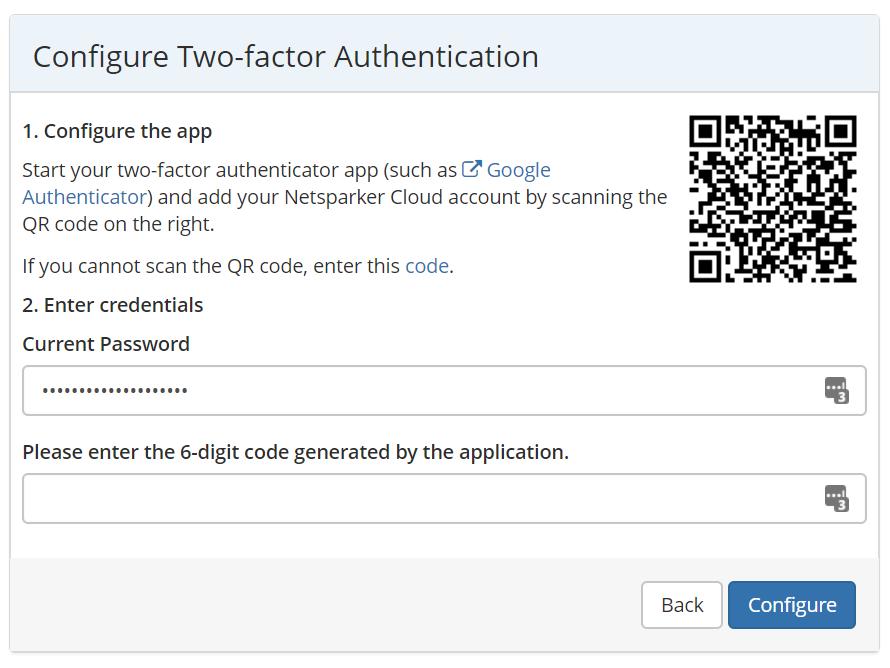 Enabling Two-factor Authentication in Netsparker Enterprise