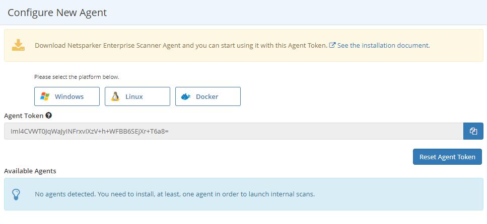 Configure New Agent Window Image