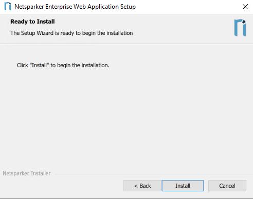 Netsparker Enterprise Ready to Install