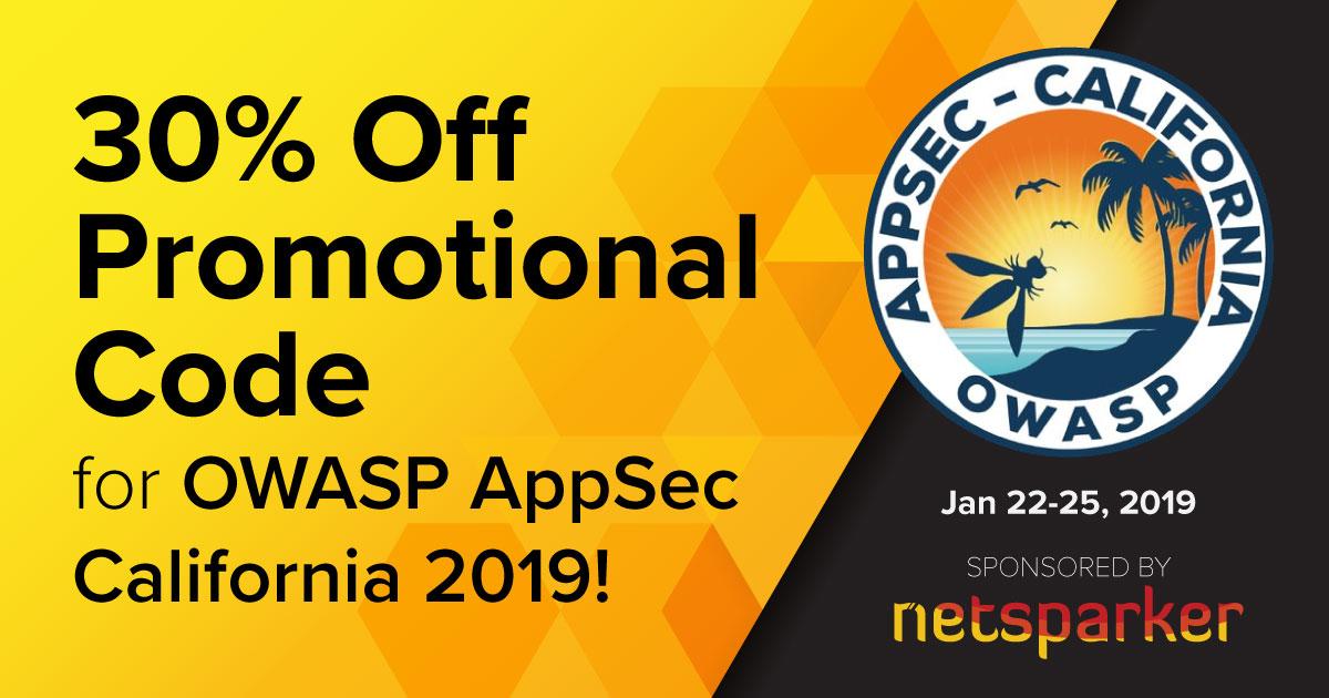 OWASP AppSec California 2019