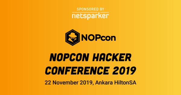 Netsparker to Exhibit at NOPcon hacker conference 2019