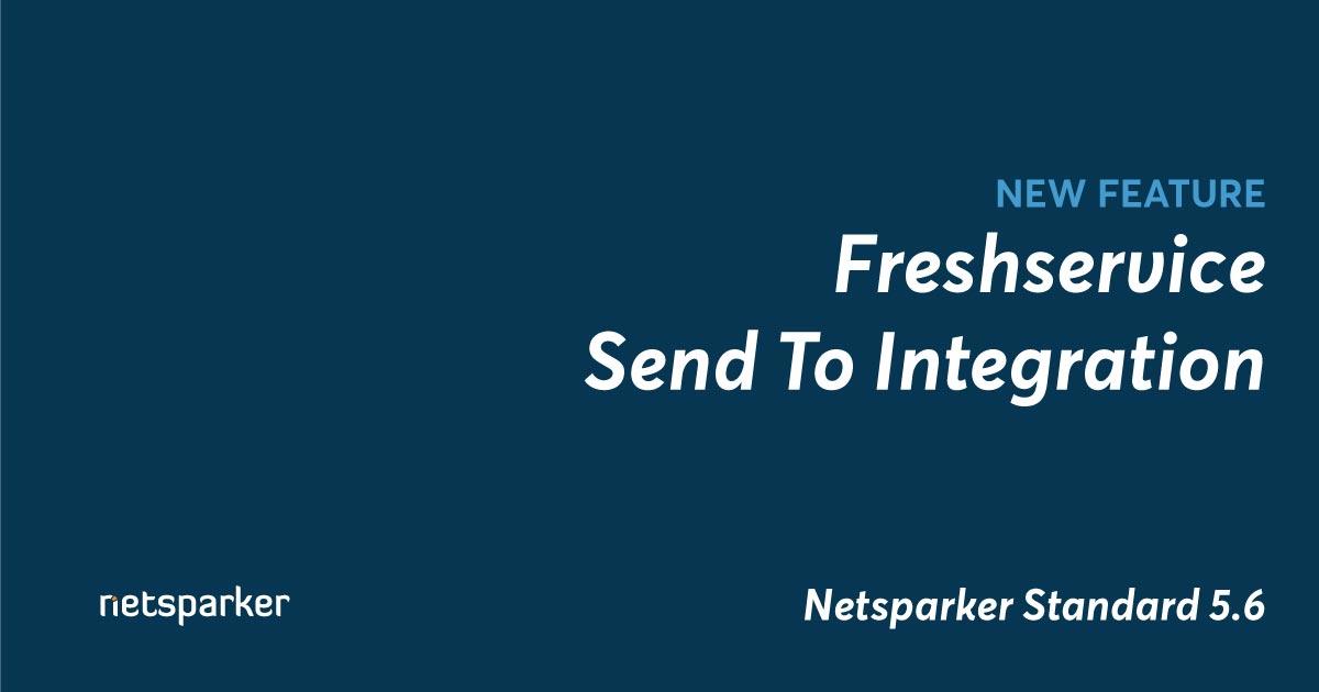 Freshservice Send To Integration
