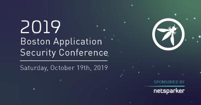 Netsparker Sponsors Boston Application Security Conference (BASC) 2019