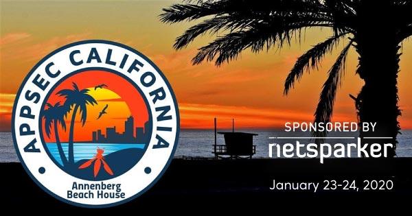 Netsparker Sponsors OWASP AppSec California 2020