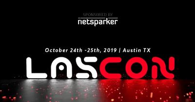 Netsparker Sponsors Lonestar Application Security Conference (LASCON) 2019