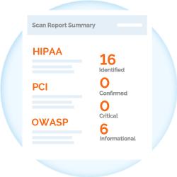 Netsparker Enterprise -  Scan Report Summary